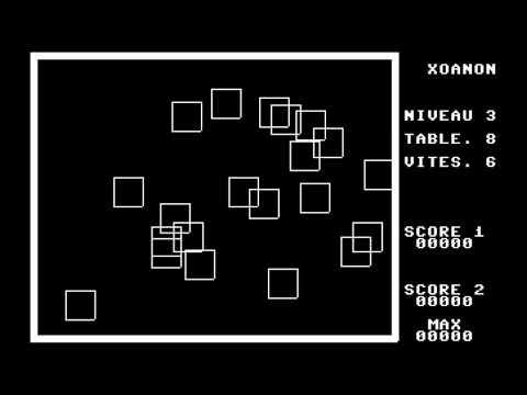 C64 Game: Xoanon