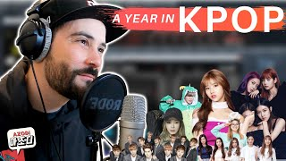 a year in Kpop