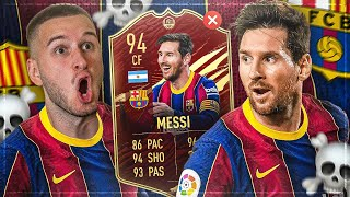 FIFA 21: MESSI INFORM SQUAD BUILDER BATTLE ☠️☠️