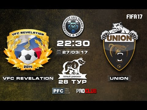 VFC Revelation - UNION | Pro Clubs | RLPC | 28 Matchday/14 Season
