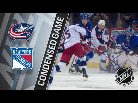 03/20/18 Condensed Game: Blue Jackets @ Rangers