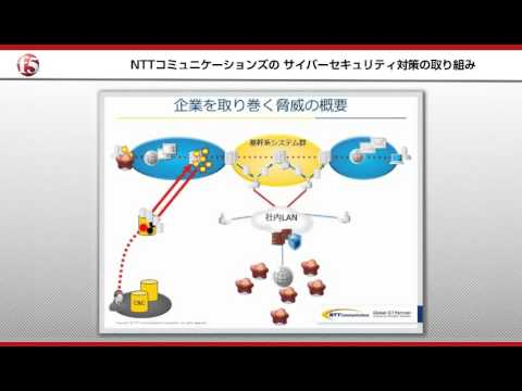 F5 Japan Security Forum 2016 NTTコミュニケーションズ