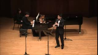 Schumann Fantasiestücke for Clarinet and Piano, Op.73 by Sungho Cho