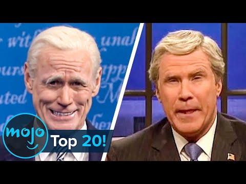See the Top 20 Funniest SNL Political Impressions!!