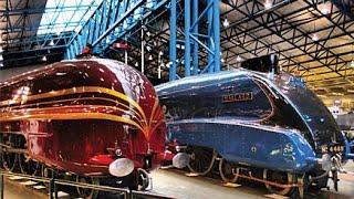 A Walk Through The National Railway Museum, York, England