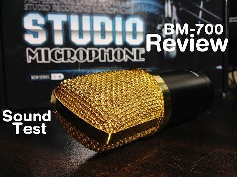 Condenser Microphone BM-700 Unbox & Review