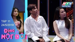 HTV ĐÚNG LÀ MỘT ĐÔI | Lê Lộc phũ phàng từ chối nụ hôn của Hồ Đức Lợi | DLMD #11 FULL | 24/5/2018