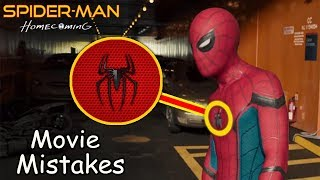Mistakes in Spider Man Homecoming 2017