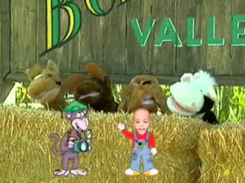 Nursery Rhymes Personalized Kids Dvd