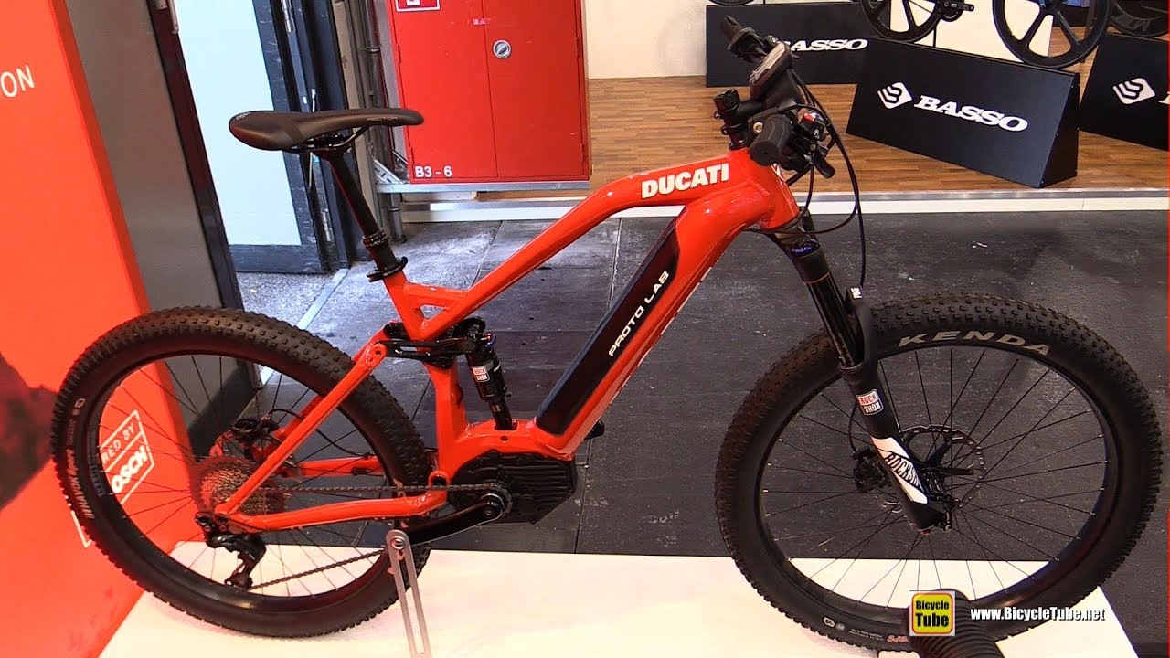 2018 Ducati E Mtb Fs Electric Mountain Bike Walkaround
