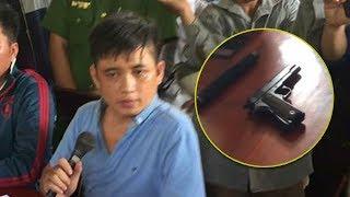 Cận cảnh giáo dân tóm cổ tên DLV cầm súng uy hiếp Linh mục Nguyễn Duy Tân