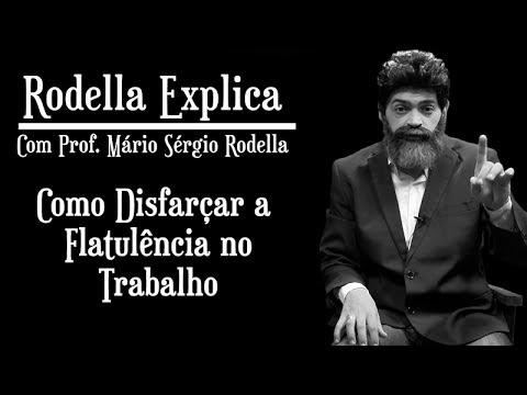 Rodella Explica #5 Como Disfarçar A Flatulência No Trabalho | Prof. Mário Sérgio Rodella |