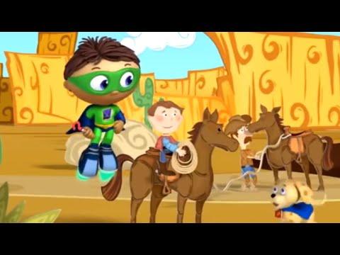 Super Why and Jasper's Cowboy Wish | Super WHY! S02 E07