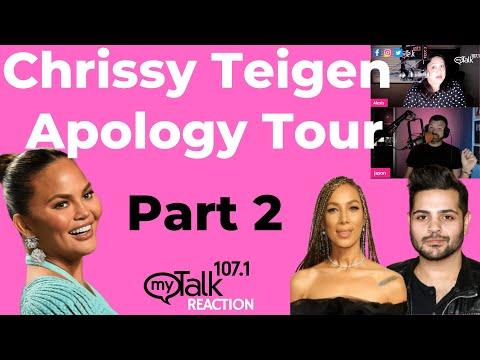 Chrissy Teigen Apology Tour Part 2