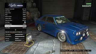 GTA 5 Online (XB1) | Cunning Stunts DLC | Obey Omnis Build, Cruise, & Test Pulls