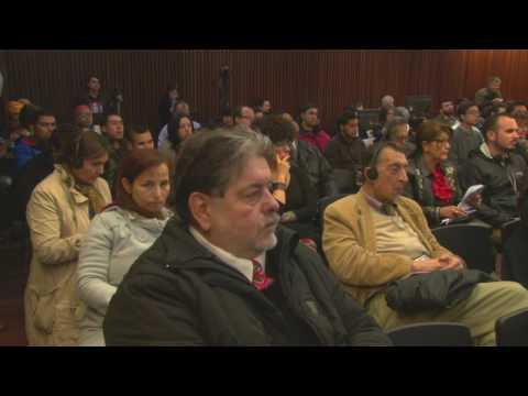 [VIDEO] Joseph Farrell, embajador de Wikileaks, en los 60 años del Colegio de Periodistas