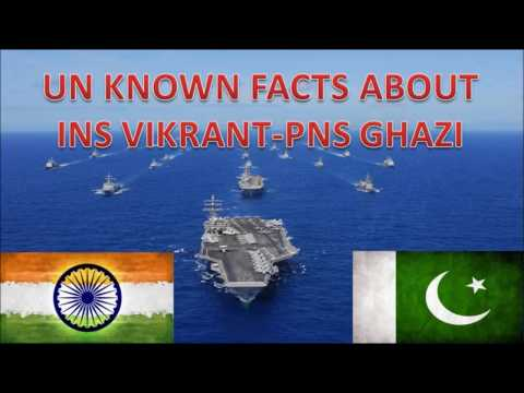 Unknown facts about PNS Ghazi Attack - INS Vikrant