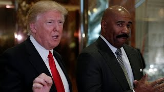 Steve Harvey Meets Donald Trump at Trump Tower To The Chagrin of Liberals Nationwide (VIDEO)