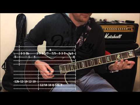 Solo - Inspired by Blackbird by Alter Bridge -- Quick Riff Guitar Lesson