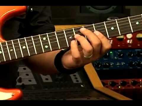 Tutorial -- Derrama de tu fuego -- Guitarra Eléctrica (Roberto Prado)