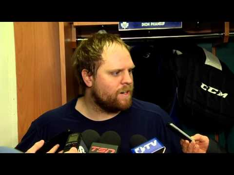Kessel rips media over Phaneuf treatment