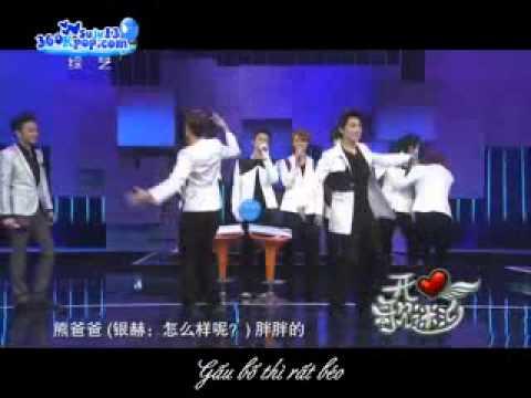 [Vietsub] Ba con gau - Ryeowook ft. SungMin - Happy Fan Meeting