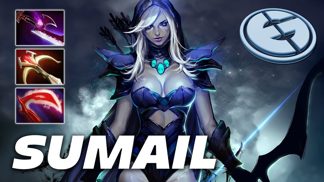 Sumail Drow Ranger Dota 2 Pro Gameplay Youtube