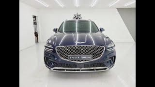 GENESIS 제네시스 GV70 로얄블루 레인보우 V9…
