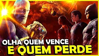 PERSONAGENS DA DC QUE VENCEM E PERDEM DO THANOS