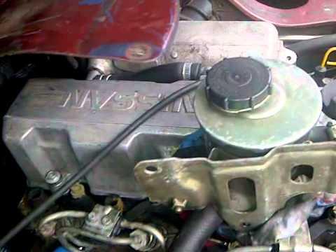 Nissan Vate LD20II diesel  YouTube