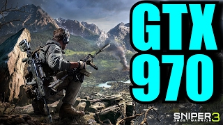 Sniper Ghost Warrior 3 BETA GTX 970 OC | 1080p Very High Settings | FRAME-RATE TEST