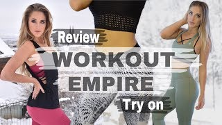 Workout Empire Activewear Try on Review // Leggings, Sports Bras, Tops