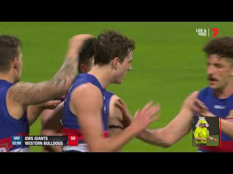 Preliminary Final AFL - GWS v Western Bulldogs Highlights