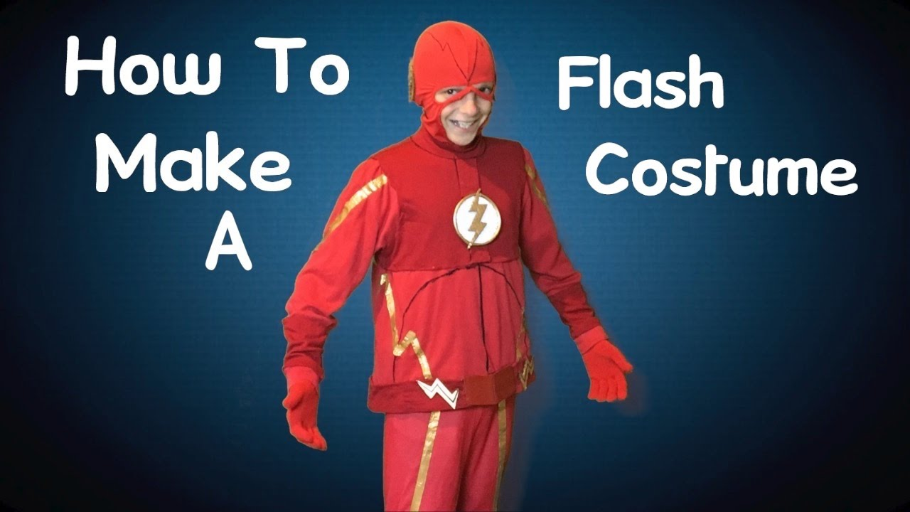 Make your own flash costume diy youtube solutioingenieria Images