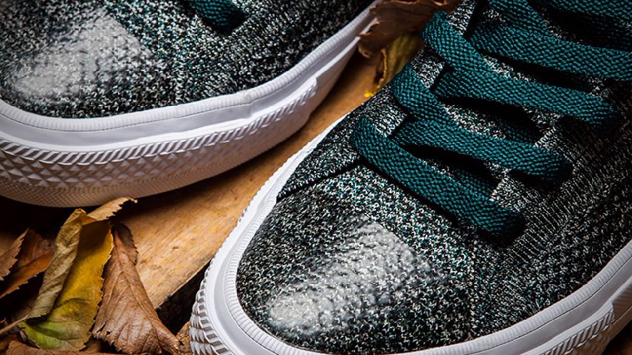 bbc15687bb45 CONVERSE CHUCK TAYLOR ALL STAR X NIKE FLYKNIT (DARK ATOMIC TEAL ...