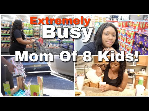 EXTREMELY BUSY DAY IN THE LIFE OF A MOM OF 8!