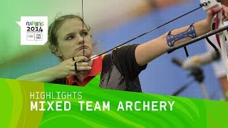 Mixed Team Archery Final - Highlight | Nanjing 2014 Youth Olympic Games