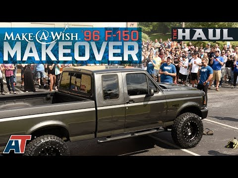 """Make-A-Wish F150 Build - 1996 5.0L F150 Gets A 4"""" Lift Kit, 34"""" Tires & $20,000 In Other Parts!"""