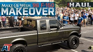 "Make-A-Wish F150 Build - 1996 5.0L F150 Gets A 4"" Lift Kit, 34"" Tires & $20,000 In Other Parts!"
