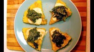 Generoso's Crispy And Sweet Polenta Fritto Con Spinaci
