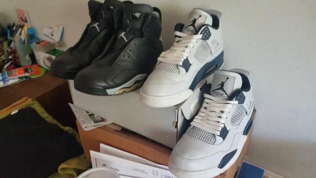newest e7a25 74f3a Custom Closet  Air Jordan 4 (IV) Dallas Cowboys   Air Jordan 6 (VI) Oakland  Raiders