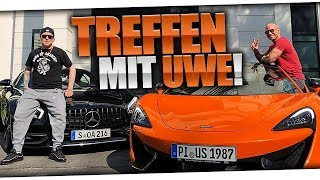 Treffen mit Flying Uwe in Hamburg | MontanaBlack