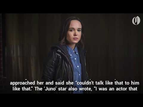Ellen Page Facebook Post Details Sexual Harassment By Brett Ratner, Others