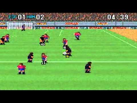 Super Formation Soccer 2: Spain Vs Human