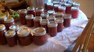 Pressure Canning Tomato Sauce-Soup and Taco Sauce