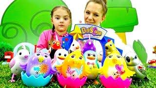 Видео с игрушками. Идём в Зоомагазин Гулливер! Интерактивные игрушки - Поющие птички Digibirds