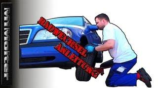 Räder selber wechseln wie? Ausführliche Anleitung von M1Molter