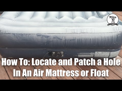 How To Fix A Aerobed Inflatable Bed Funnydog Tv