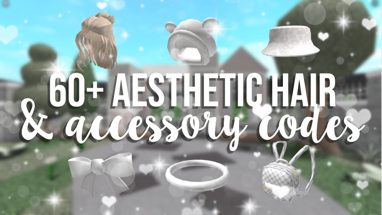 60  Aesthetic Hair Accessory Codes (Roblox) YouTube