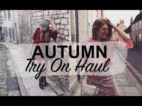 AUTUMN TRY ON HAUL | REVOLVE, NASTY GAL,  URBAN OUTFITTERS | SINEAD CROWE